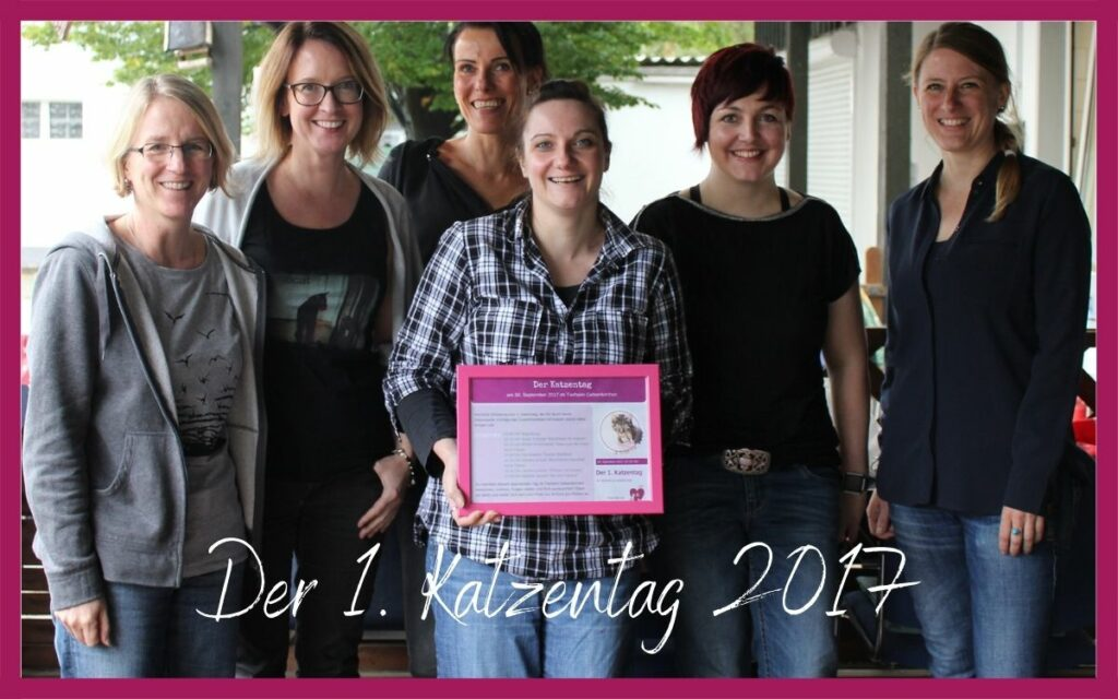 Sonja Tschöpe - Der erste Katzentag 2017