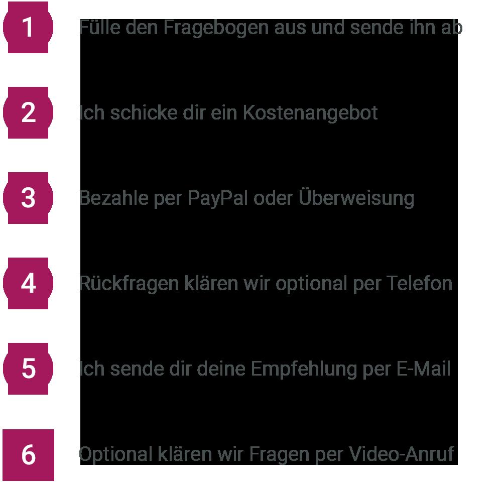 Online-Beratung - So geht´s -Sonja Tschöpe - TIERHEILPRAKTIKERIN | TIERERNÄHRUNGSBERATERIN